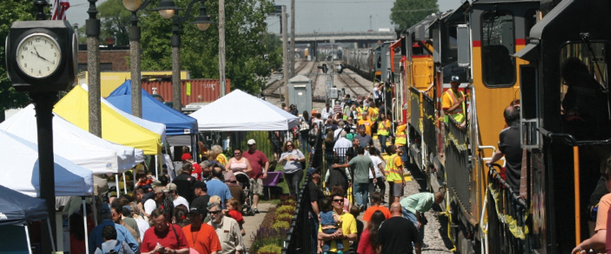 Franklin Park Fest Featuring Railroad Day