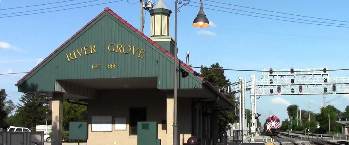 River Grove  Train Station