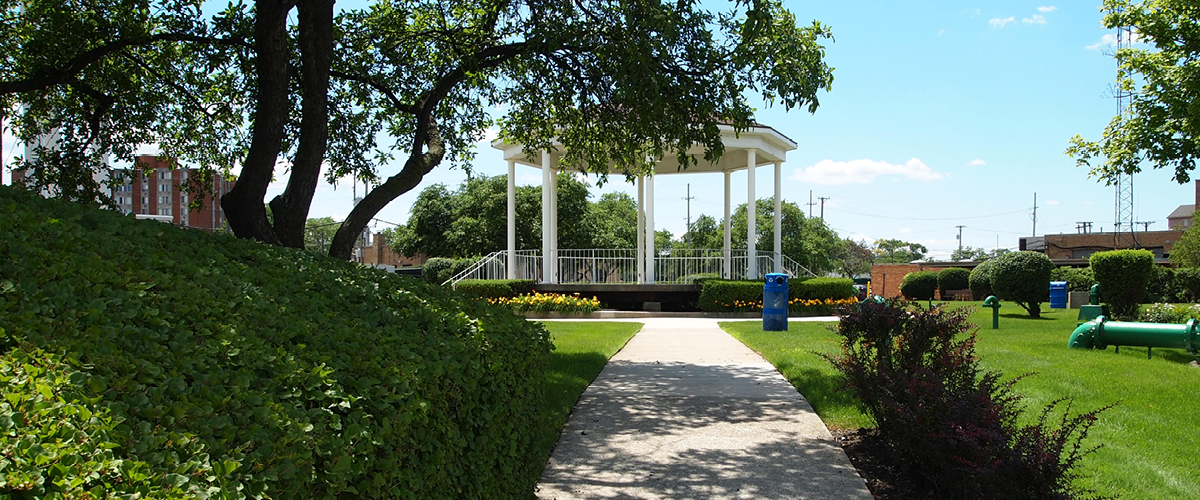 Gazebo at Hammill Square, Franklin Park