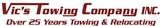 Vic's Towing Co., Inc.